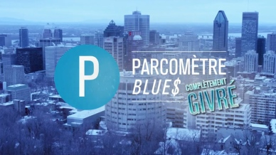 Parcomètre Blues